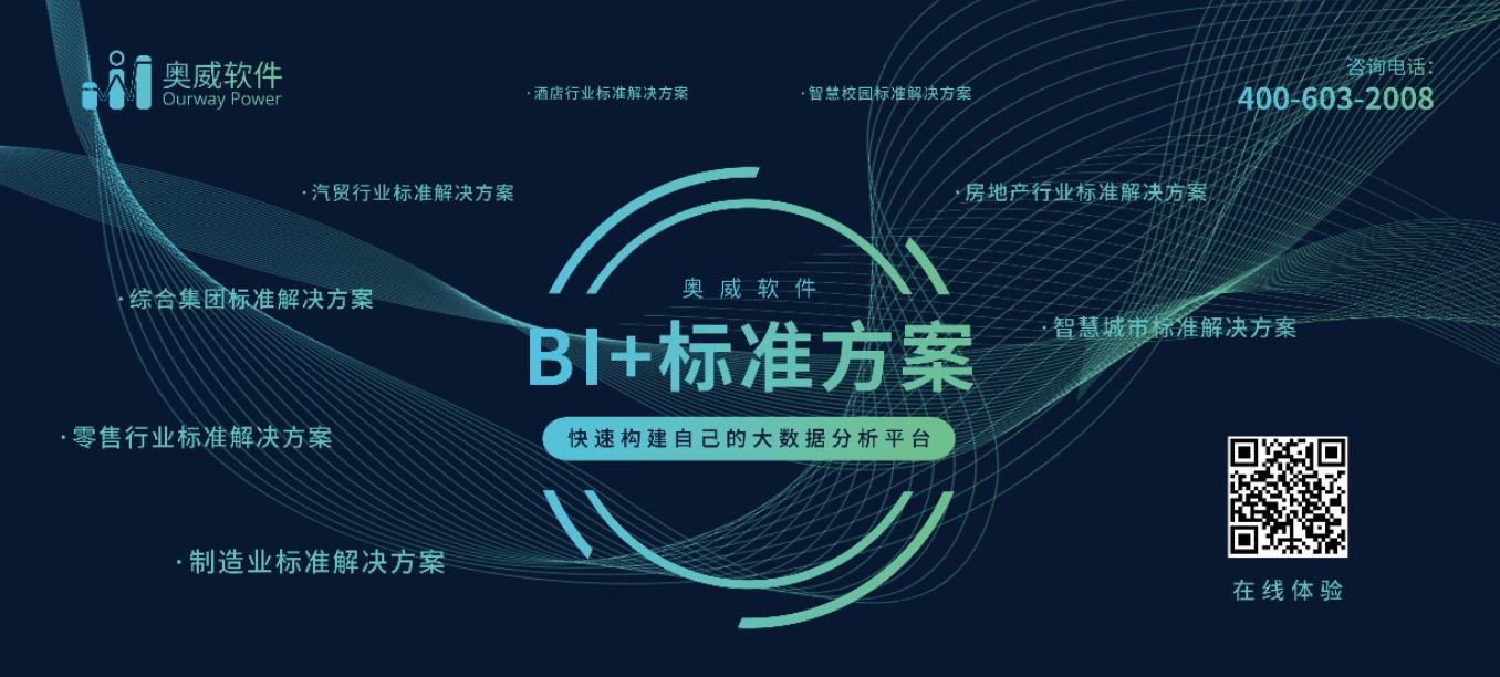 奥威BI可视化报表,BI系统